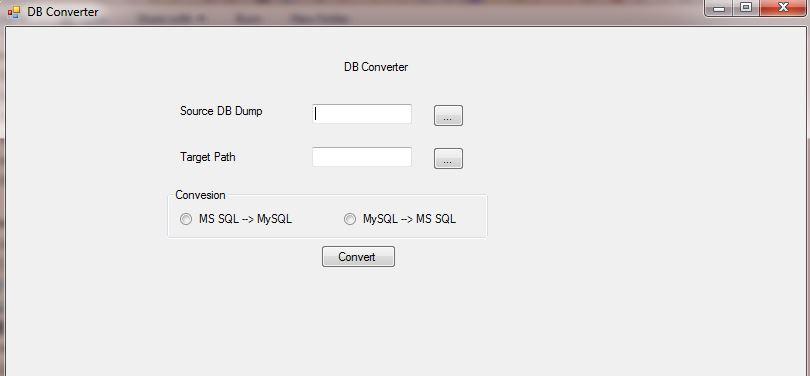 DB Converter