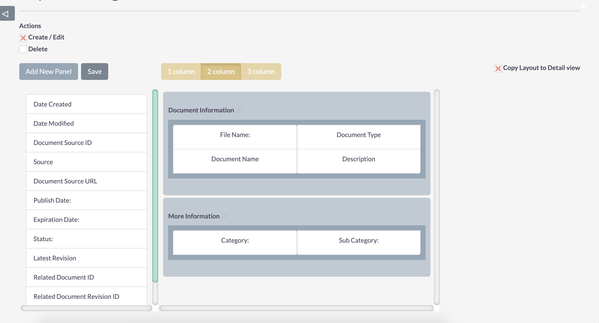 Customer Portal Layout Configuration - 2